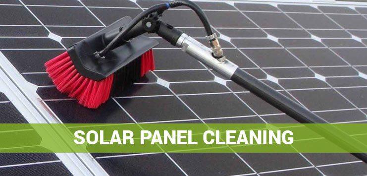 Solar panel cleaning Sydney